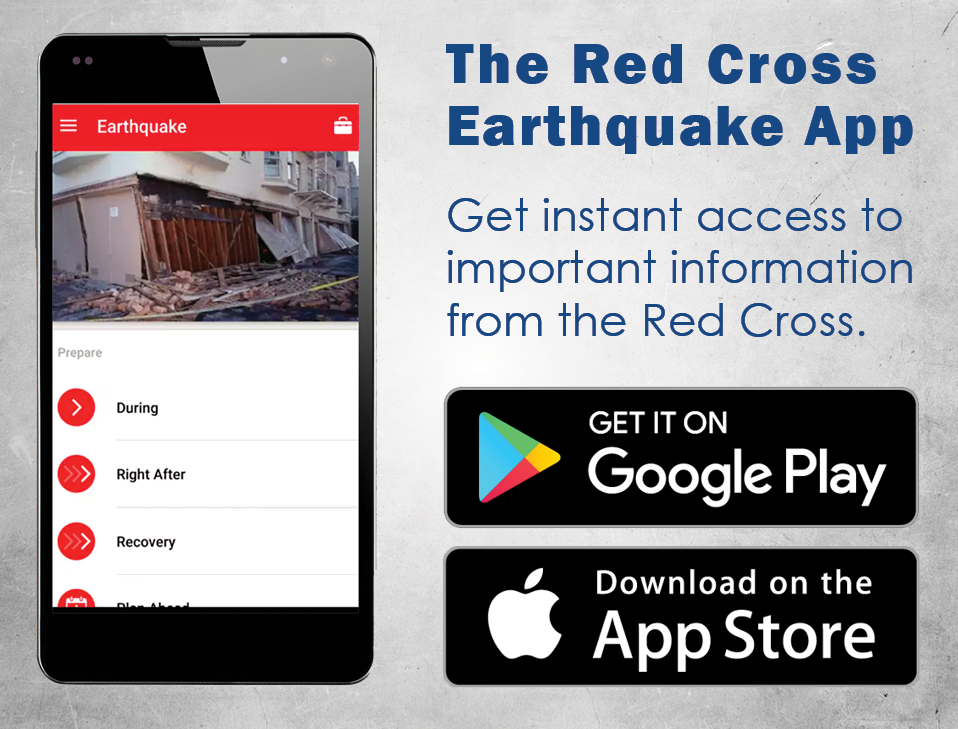 Red Cross Earthquake App